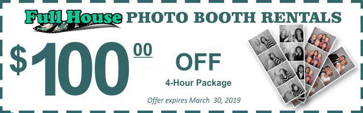 Photo Booth Rental Coupon